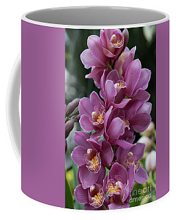 Cascading Orchids Coffee Mug