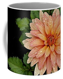 Cascading Rain Droplets Coffee Mug