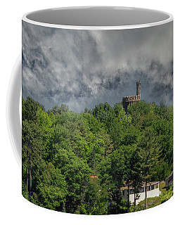 Coffee Mug featuring the photograph Casco Castle 5733 by Guy Whiteley
