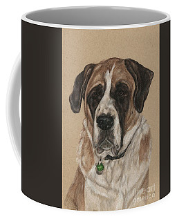 Coffee Mug featuring the drawing Casey  by Meagan  Visser