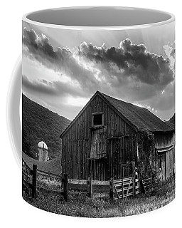 Casey's Barn - Monochrome Coffee Mug