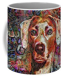 Cash The Lacy Dog Coffee Mug