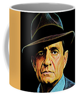 Cash With Hat Coffee Mug by Gary Grayson
