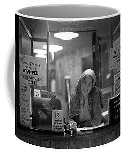 Cashier, Devon Theatre, 1979 Coffee Mug