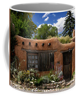 Casita De Santa Fe Coffee Mug by Kurt Van Wagner