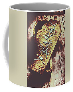Casket Closing Coffee Mug
