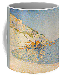 Coffee Mug featuring the painting Cassis. Cap Lombard. Opus 196 by Paul Signac