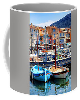 Coffee Mug featuring the photograph Cassis Harbor by Olivier Le Queinec