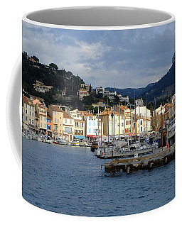 Cassis Town And Harbor Coffee Mug