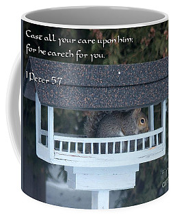 Cast All Your Care Coffee Mug