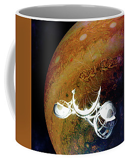 Coffee Mug featuring the photograph Cast Away by Alex Lapidus