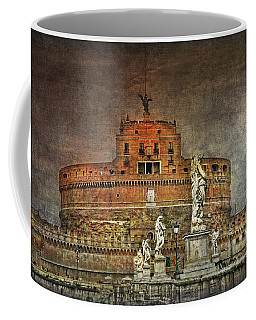 Coffee Mug featuring the photograph Castel Sant Angelo Fine Art by Hanny Heim