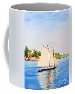 Castine Harbor And Dice Head Light Coffee Mug