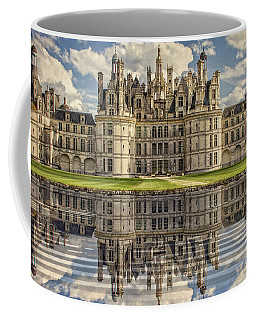 Coffee Mug featuring the photograph Castle Chambord by Heiko Koehrer-Wagner
