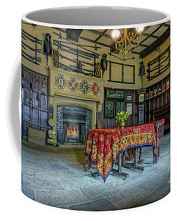 Coffee Mug featuring the photograph Castle Dining Room by Ian Mitchell