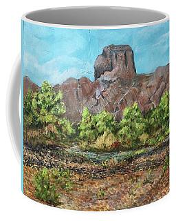 Castle Dome Flash Flood Coffee Mug