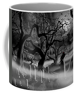 Castle Graveyard I Coffee Mug by James Christopher Hill
