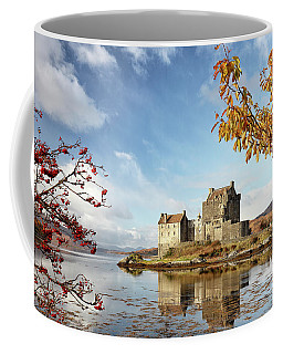 Coffee Mug featuring the photograph Castle In Autumn by Grant Glendinning