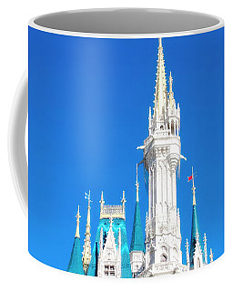 Coffee Mug featuring the photograph Castle In The Sky by Mark Andrew Thomas