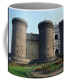 Castle Nuovo Naples Italy Coffee Mug