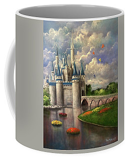 Castle Of Dreams Coffee Mug by Randy Burns