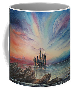 Castle On A Lake Coffee Mug