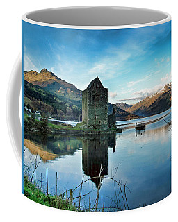 Castle On The Loch Coffee Mug by Lynn Bolt