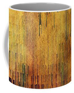 Castle View Planet Pixel Coffee Mug