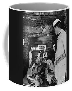 Castle Village Air Raid Shelter Coffee Mug