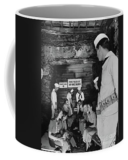 Castle Village Air Raid Shelter Coffee Mug