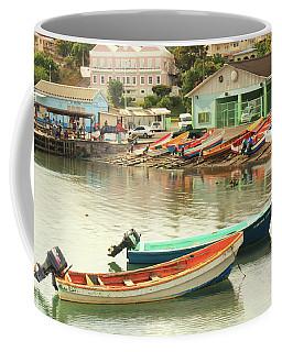 Castries Harbor Waterfront Coffee Mug