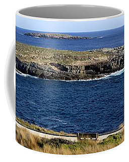 Coffee Mug featuring the photograph Casuarina Islets by Stephen Mitchell