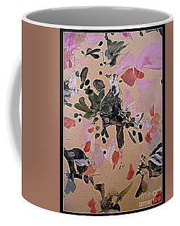 Coffee Mug featuring the painting Cat Bird by Nancy Kane Chapman