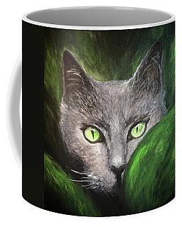 Cat Eyes Coffee Mug