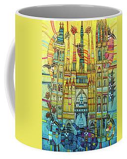 Cat-hedral Coffee Mug