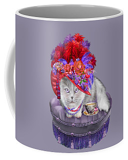 Cat In The Red Hat Coffee Mug by Carol Cavalaris