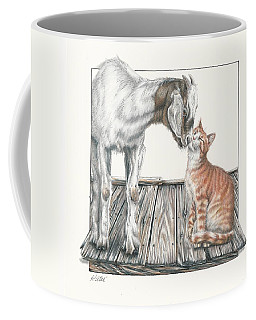 Cat Kiss Coffee Mug