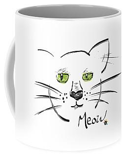 Cat Meow Coffee Mug
