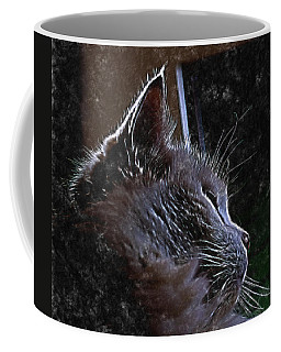 Cat Muse Coffee Mug