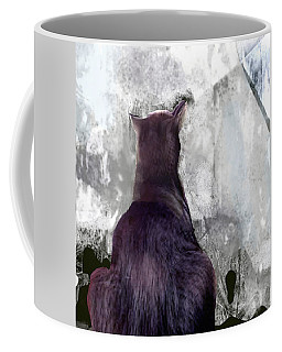 Cat's Blue Moon Coffee Mug