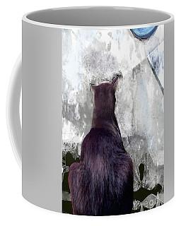 Cat's Blue Moon Coffee Mug
