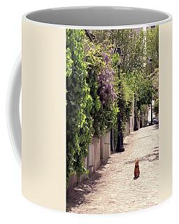 Cat On Cobblestone Coffee Mug