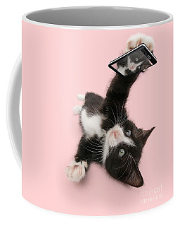 Cat Selfie Coffee Mug