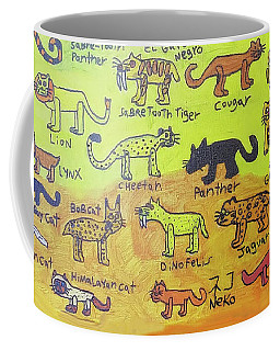 Cat Styles Coffee Mug
