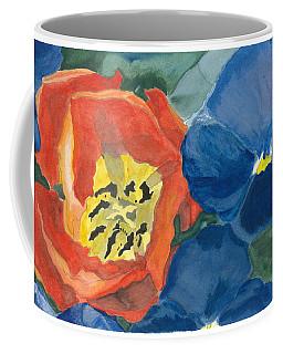 Cat Tulip Coffee Mug