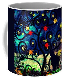 Cat Watch  Coffee Mug by Kim Prowse