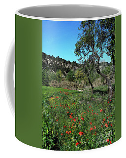 Catalan Countryside In Spring Coffee Mug by Don Pedro De Gracia
