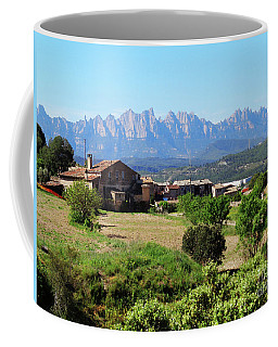 Catalan Landscape In Spring Coffee Mug