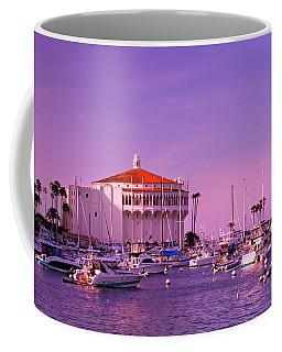 Catalina Casino Coffee Mug by Marie Hicks