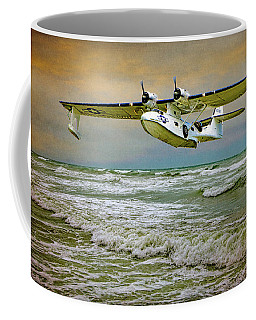 Coffee Mug featuring the photograph Catalina Flying Boat by Chris Lord
